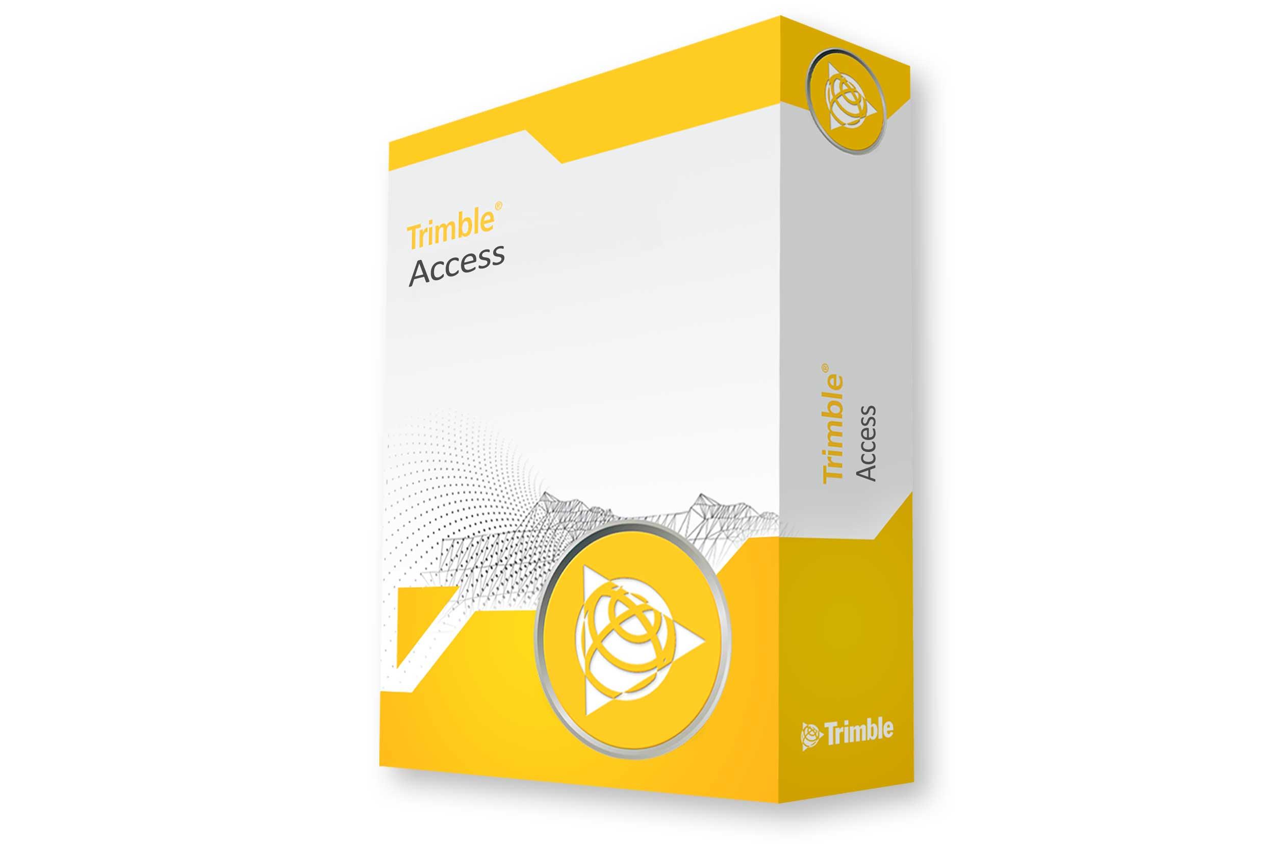 Feldsoftware Trimble Access