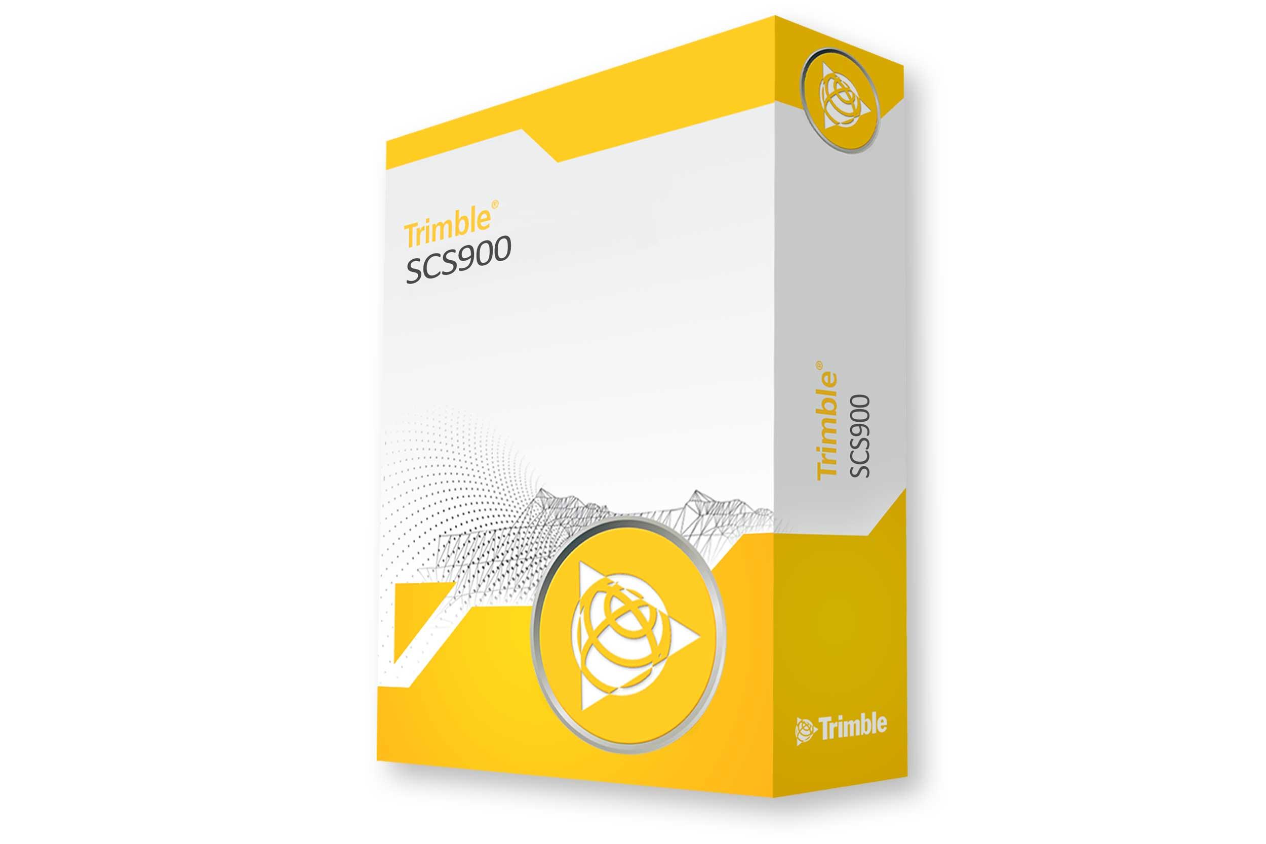 Feldsoftware Trimble SCS 900