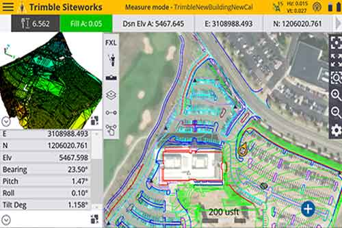 Feldsoftware | Trimble Siteworks