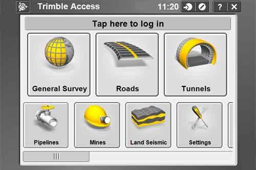 Feldsoftware |Trimble Access